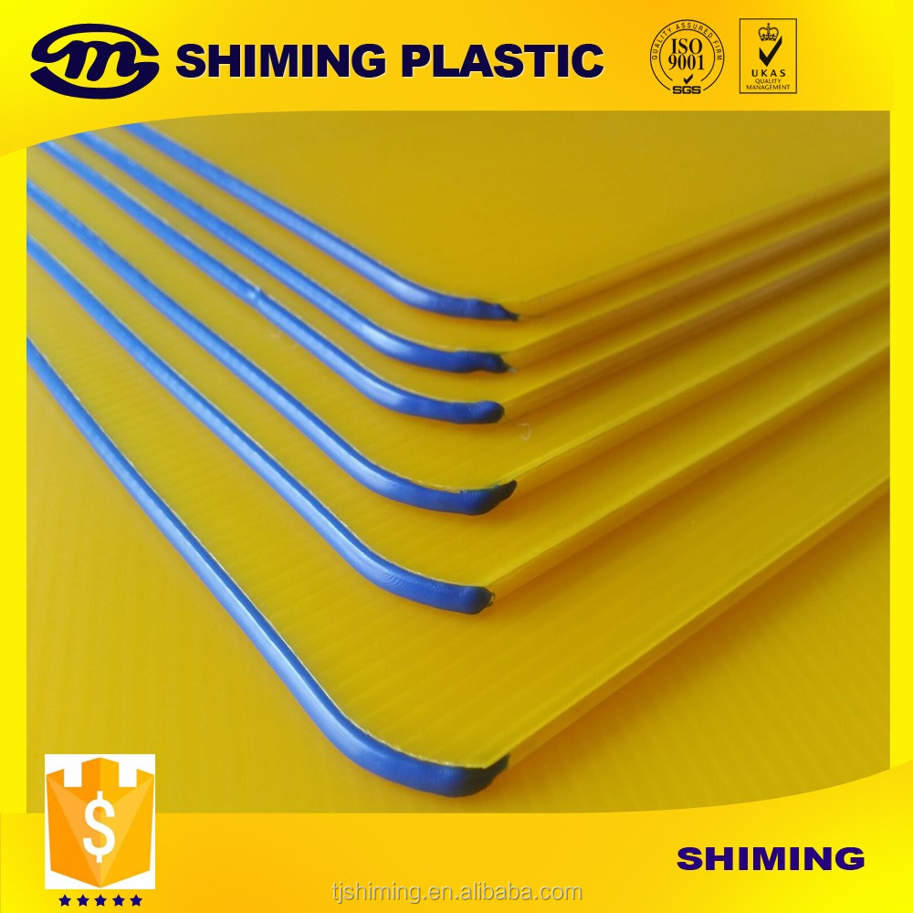 Corrugated Plastic PP Bottle Tray/pp Corrugated Layer Pad