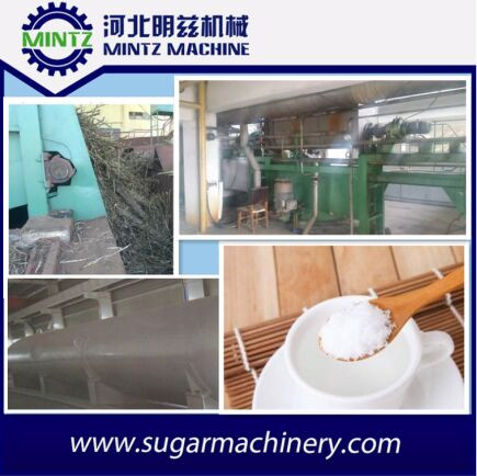 100TCD raw sugar refinery processing line with cheap price