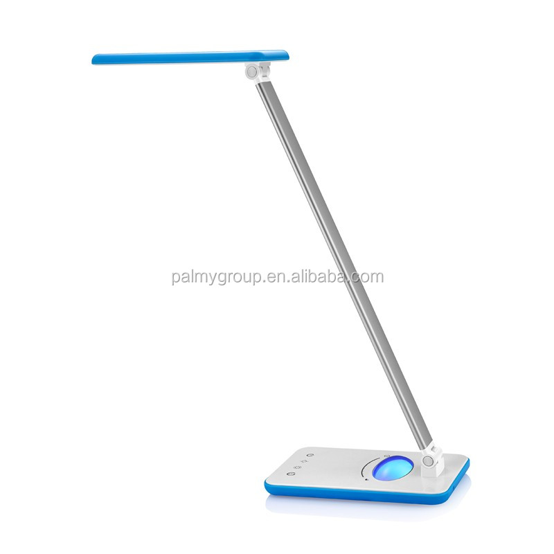 Shenzhen Factory <strong>price</strong> Smart Touch RGB Flexible dimmable led desk lamp folding led desk lamp