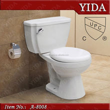 china manufacturer,upc siphonic separated toilet seat,america handicapped toilet
