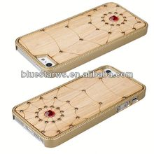 fashion cell phone case phone case factory wood grain case for iphone 5