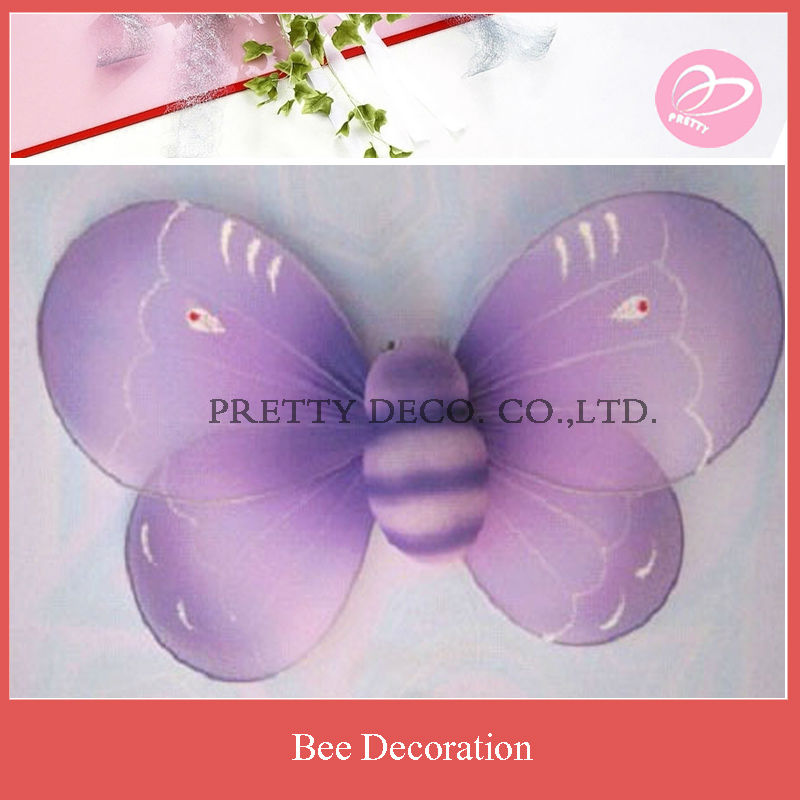 Big nylon bee for home decoration