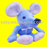 Factory supply plush mouse toy with music&plush pet toy