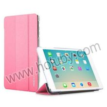 China Supplier Rock Tri-fold Flip Stand PU Leather Case for iPad mini 3 iPad mini 2