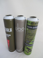 Daim 52mm necked-in printed aerosol metal packaging tin can for hair spray
