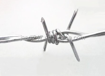 High Quality Coating Barbed Wire Fence Wire Mesh Fence