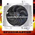 high performance oil cooler with fan