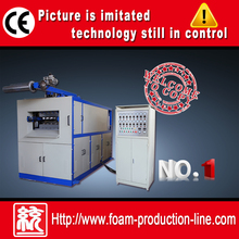 Hydraulic fully plastic line cup and plates making machine