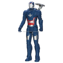 Super Hero Marvel Irron Man 3 Titan Hero Series Iron Patriot Action Figure 12-Inch