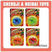 New style plastic flashing toy spinning tops
