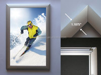25mm 32mm Profile Snap frame Advertising Aluminum Extrusion Snapper Frame