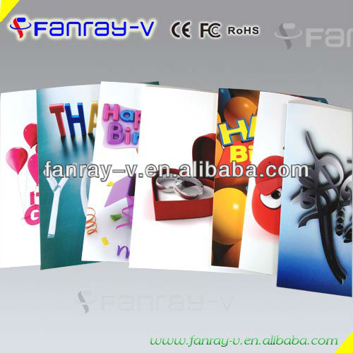 4.3inch TFT lcd screen greeting card,business,invitation,video card