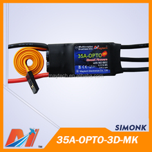 Maytech 35A 3D flight SimonK ESC speed controller for electric motorfor rc drone helicopter with camera