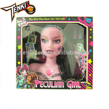Toys 2017 factory price wholesale pretty fashion girl silicon doll for children