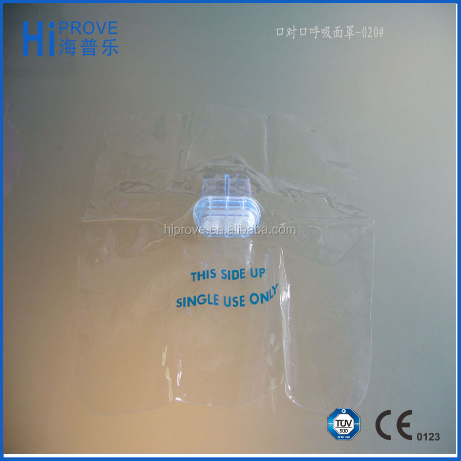 Disposable CPR Mask/Mouth to Mouth Mask with One-way Valve