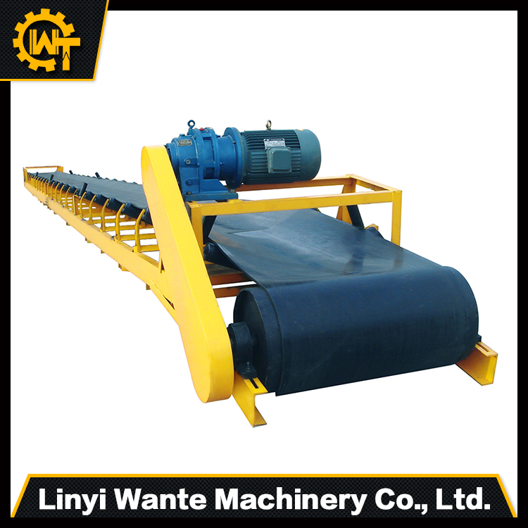 Large Conveying Capacity Extensible Conveyor Belt System With Best Price