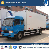 Refrigerated box truck, used refrigerated vans