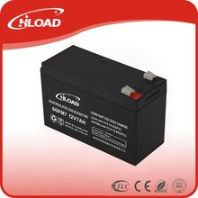 2015 hot agm storage battery 12v 7.5ah 100ah sealed lead-acid battery operated security system