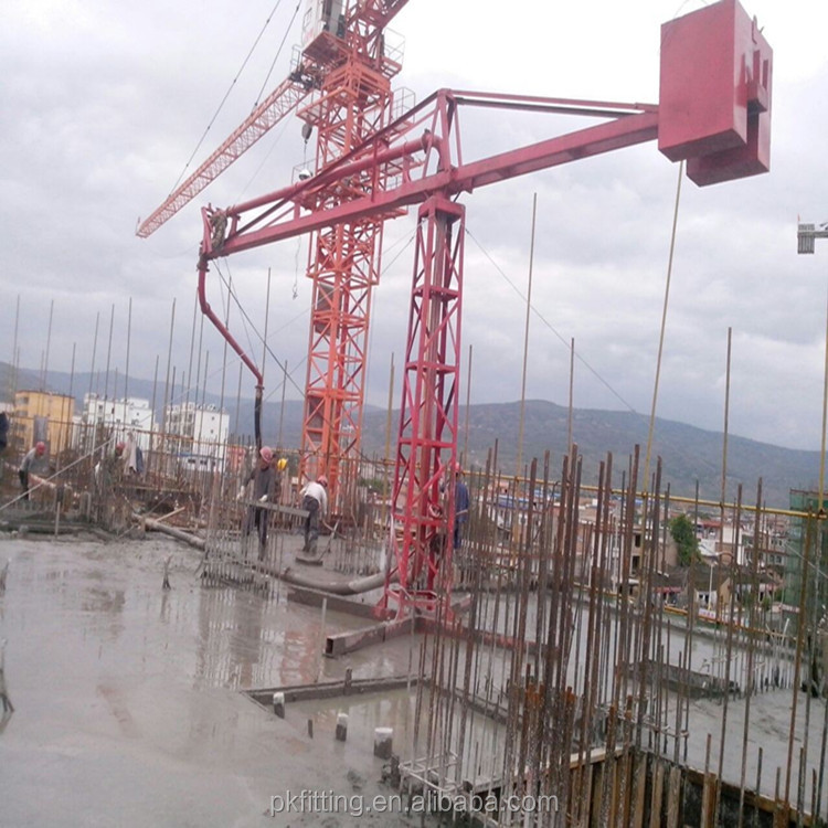 IHI concrete spider boom, placing boom used for construction mach