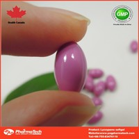 Hot new products antioxidant lycopene softgel capsules