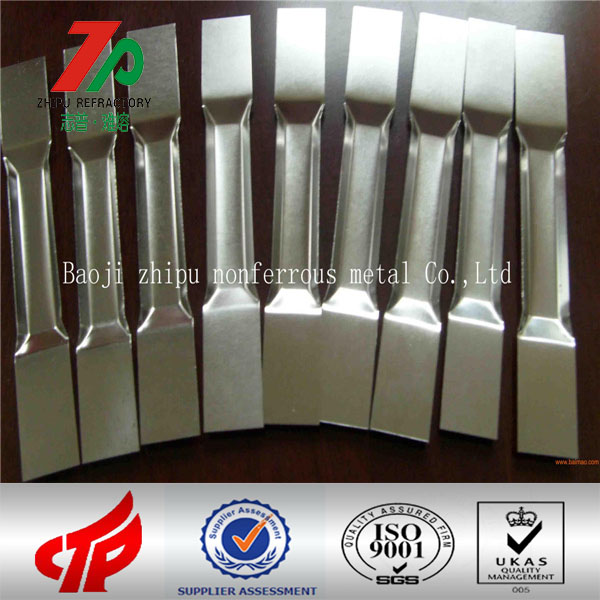 Refractory metal spare parts tungsten evaporation boat used in Vacuum coating