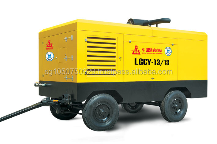 Diesel driven Screw Air Compressor