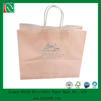 2013 customized printed craft paper gift bag supplier