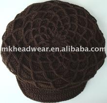 2013 new coming women fashion hand knitted hat