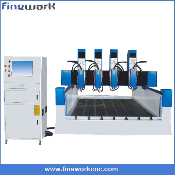 Highly Cost Effective FINEWORK cnc router for 3d statue and european style furnit