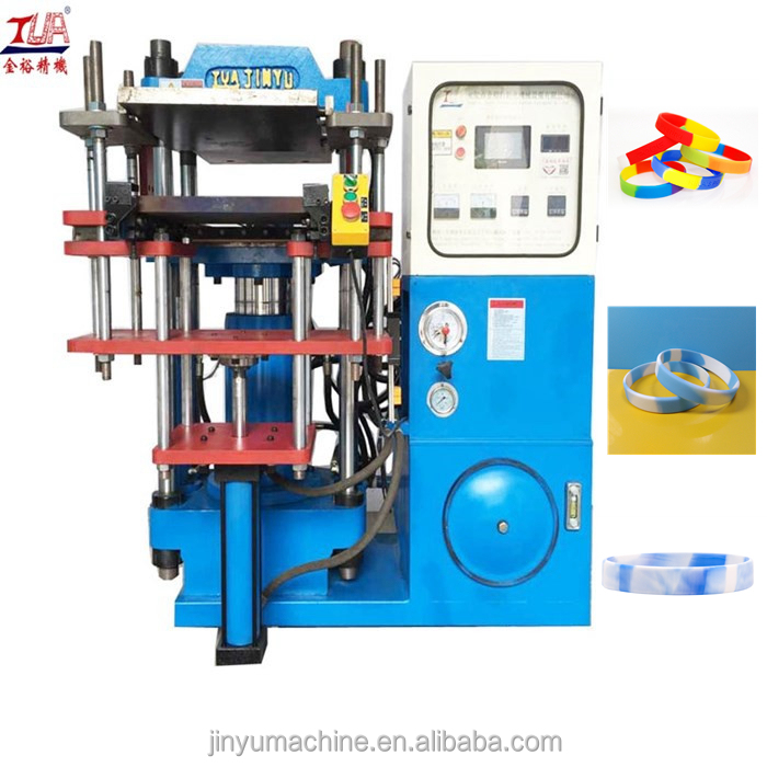 Automatic Swirl Color Silicone Wristbands making machine