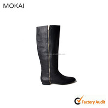 MK047-11-black unique italian women shoes factory direct