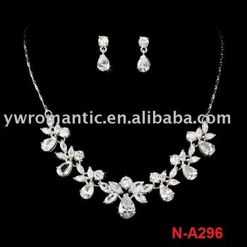fashion wedding jewelry set