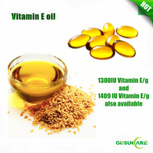 Natural Premium Bulk Vitamin E Oil 1000IU / D-Alpha Tocopheryl Oil 1000IU