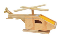 factory suppliers selling ISO&9001&FSC&SA8000 DIY wooden helicopter kids study toys in educational for manufacturers