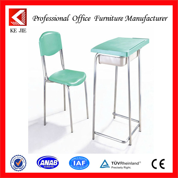 Student Desks & chairs series/Strong single seats used student desks with chair