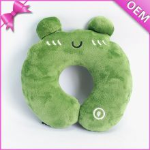 Plush frog animal pillow,soft home toys U-shape pillow toys