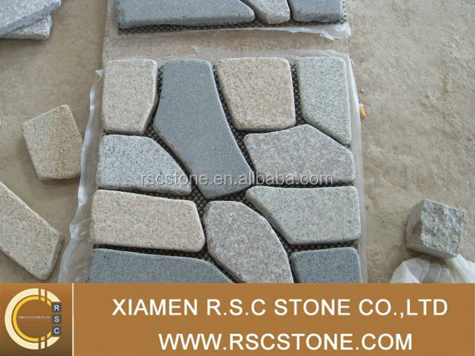 Good quality of cobble stone mat for project