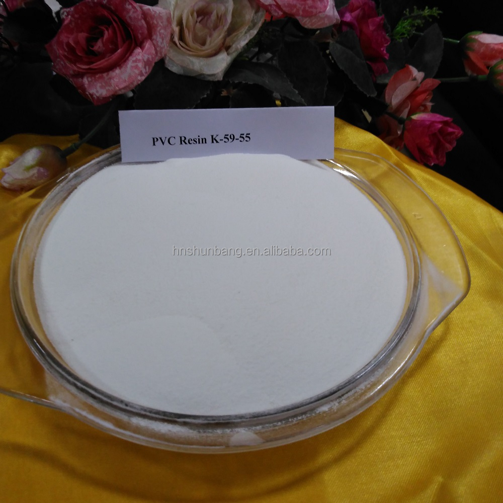 Good quality white powder chemical raw material pvc resin lg ls100