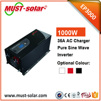 Hybird power inverter 1kw 2kw 3kw 4kw 5kw 6kw pure sine wave inverter