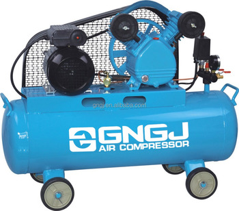 Customized industrial piston mini belt driven air compressor pump