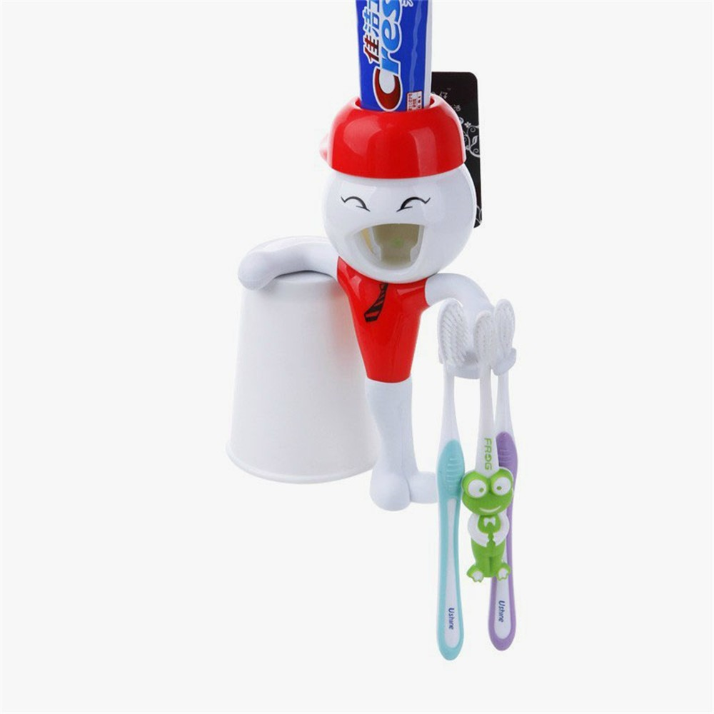 Cartoon Cute Fashion Tooth Style silicone toothbrush holder Toothbrush Holder Bracket Container for Bathroom