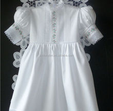 Wholesale Christmas Dress Flower Girls White Wedding Dress Baby Kids Lace Cap Sleeve Country Dresses
