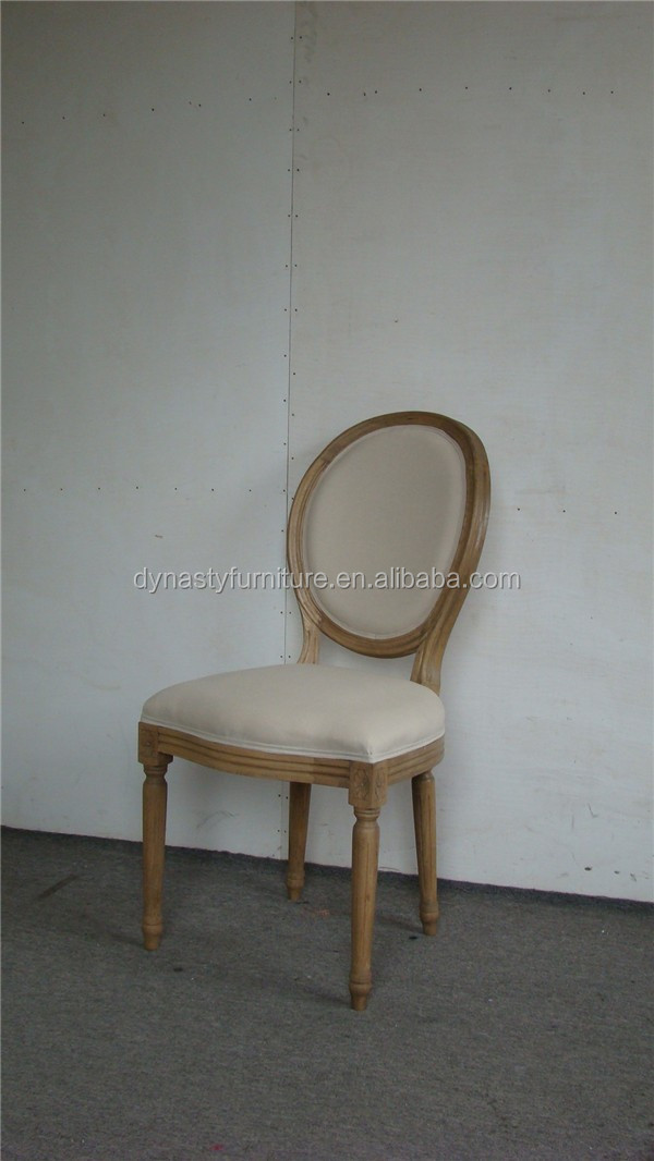 oak wooden french style high back home indoor dining <strong>chair</strong>