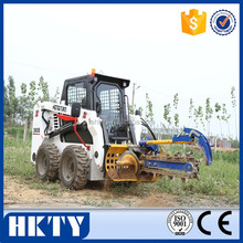 skid steer loader trencher attachment