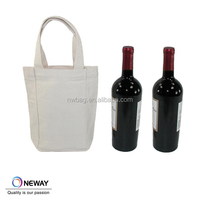 2015 China Price Quality Custom fabric wine bottles covers/decorative wine bottle covers/Bottle Bag With Handle