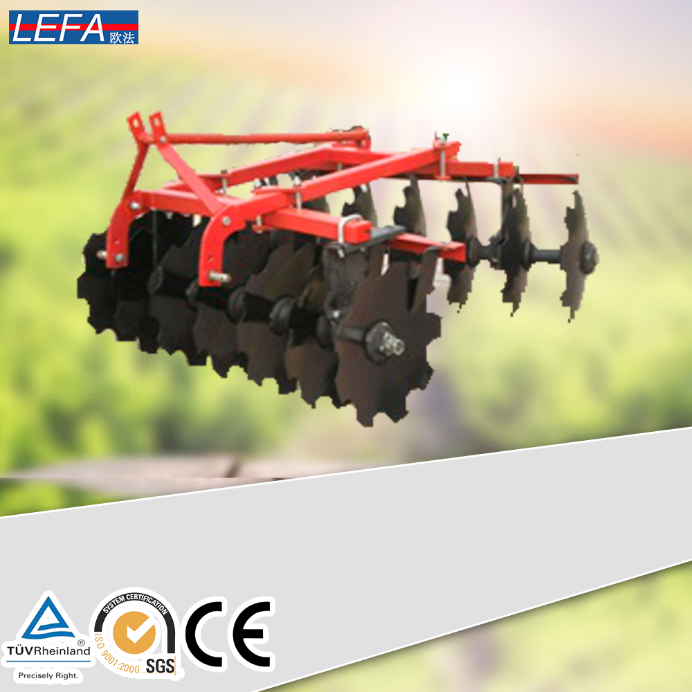 Tractor implement agriculture offset heavy duty disc harrow made in China
