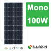 Bluesun China Mono 100W Panel Solar Price Per Watt 100wp Solar Panel