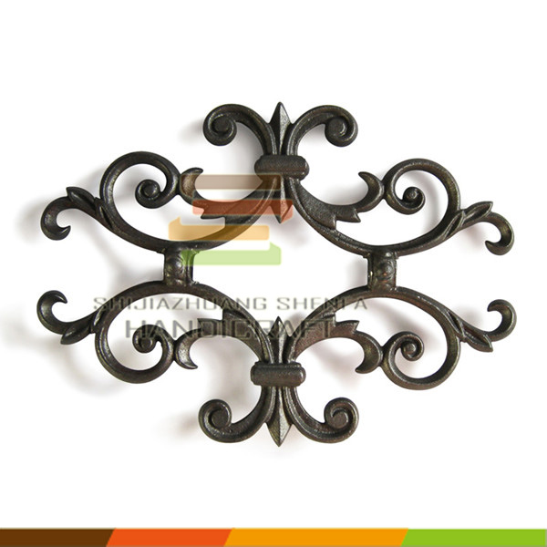 Casting ornaments wrought iron railing parts