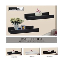 popular high quality decorative wooden wall shelf design