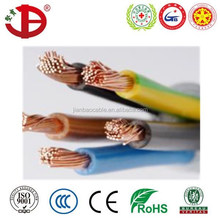 BVR PVC insulated flexible electrical wire/power cable